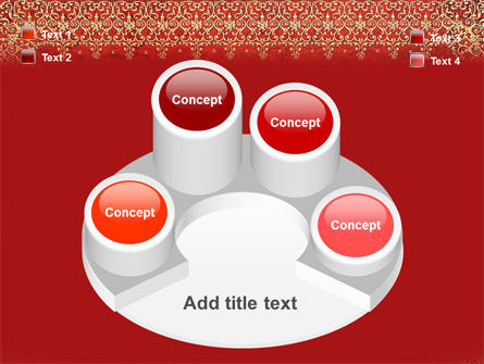 Persian Carpet PowerPoint Template Slide 12