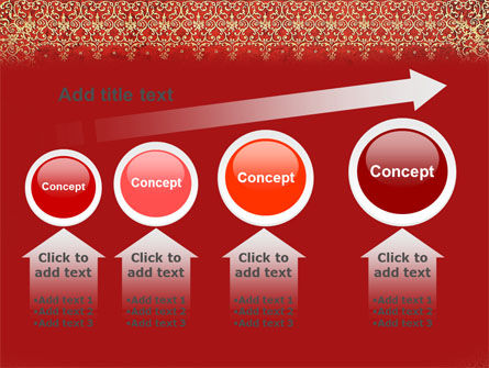 Persian Carpet PowerPoint Template Slide 13