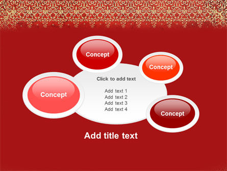 Persian Carpet PowerPoint Template Slide 16