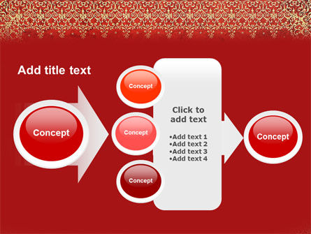 Persian Carpet PowerPoint Template Slide 17