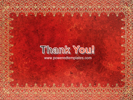 Persian Carpet PowerPoint Template Slide 20