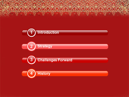 Persian Carpet PowerPoint Template Slide 3
