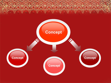 Persian Carpet PowerPoint Template Slide 4