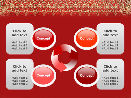 Persian Carpet PowerPoint Template Slide 9