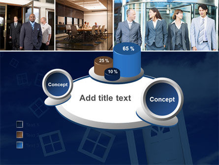 Open Doors In Collage PowerPoint Template Slide 16