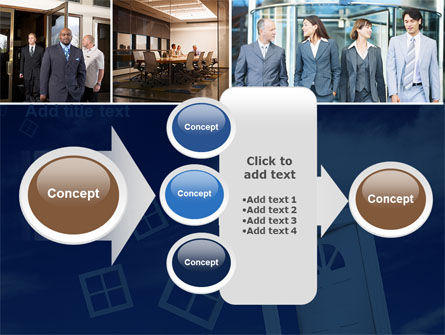 Open Doors In Collage PowerPoint Template Slide 17