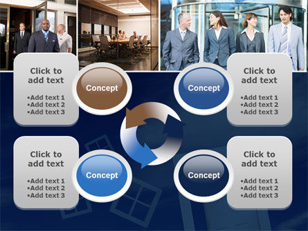 Open Doors In Collage PowerPoint Template Slide 9