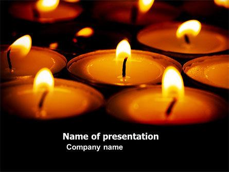 Religious/Spiritual: Religious Service PowerPoint Template #04743