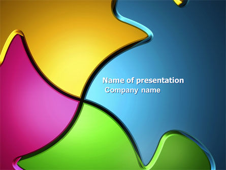 Abstract/Textures: Combination PowerPoint Template #04744