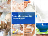 Food & Beverage: Milk Feeding PowerPoint Template #04747