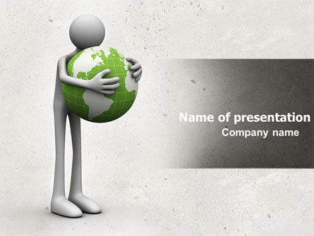 World Love PowerPoint Template, 04748, Global — PoweredTemplate.com