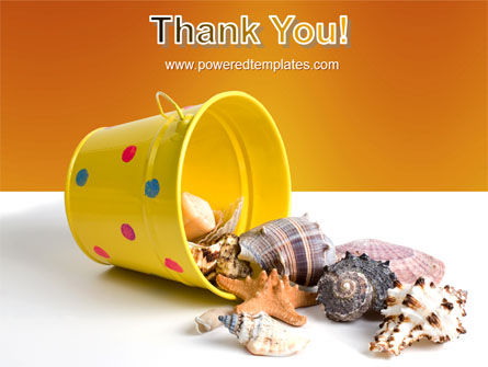 Beach Bucket PowerPoint Template Slide 20