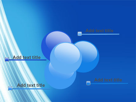 Abstract Blue Silver PowerPoint Template Slide 10