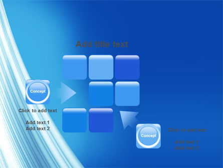 Abstract Blue Silver PowerPoint Template Slide 16