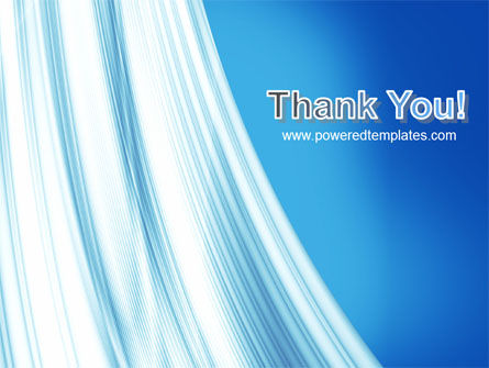 Abstract Blue Silver PowerPoint Template Slide 20