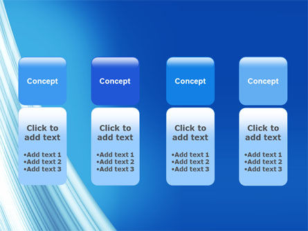 Abstract Blue Silver PowerPoint Template Slide 5