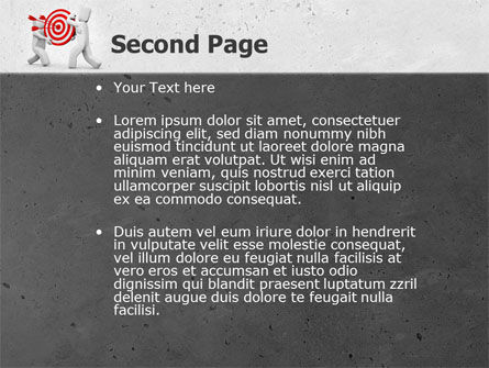 Target Point PowerPoint Template, Slide 2, 04751, Business Concepts — PoweredTemplate.com