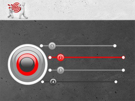 Target Point PowerPoint Template, Slide 3, 04751, Business Concepts — PoweredTemplate.com