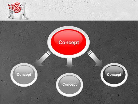 Target Point PowerPoint Template, Slide 4, 04751, Business Concepts — PoweredTemplate.com
