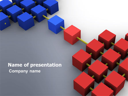 Opposition PowerPoint Template, 04753, Business Concepts — PoweredTemplate.com