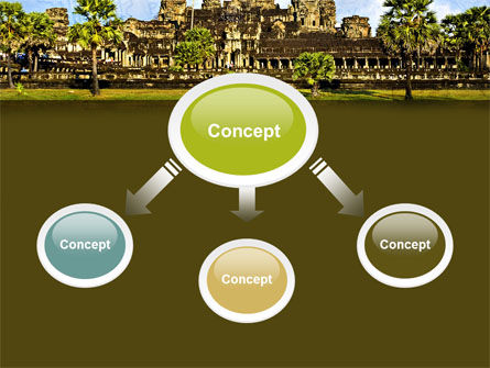 Cambodia PowerPoint Template, Slide 4, 04756, Flags/International — PoweredTemplate.com