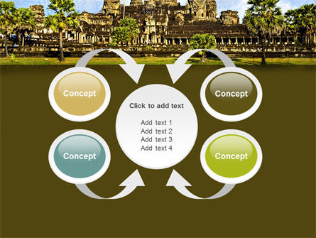 Cambodia PowerPoint Template Slide 6