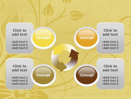 Aged Paper Texture PowerPoint Template Slide 9