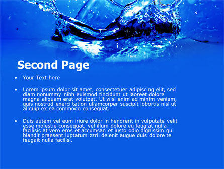 Dash PowerPoint Template, Slide 2, 04758, Nature & Environment — PoweredTemplate.com