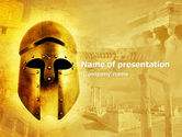 Education & Training: Antiquity PowerPoint Template #04760