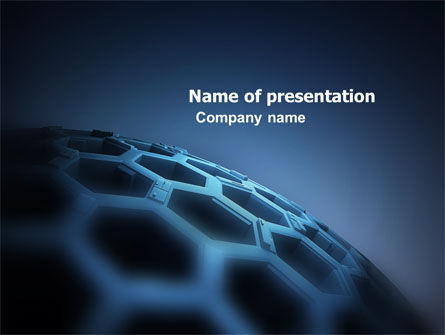 Abstract/Textures: Honeycombs PowerPoint Template #04764