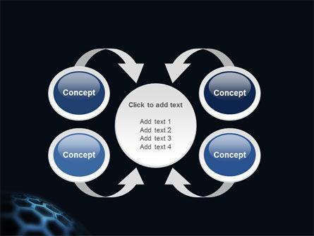 Honeycombs PowerPoint Template Slide 6