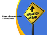 Financial/Accounting: Inflation Threat PowerPoint Template #04767