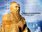 Education & Training: Confucius PowerPoint Template #04769