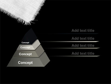 White Cloth PowerPoint Template Slide 12
