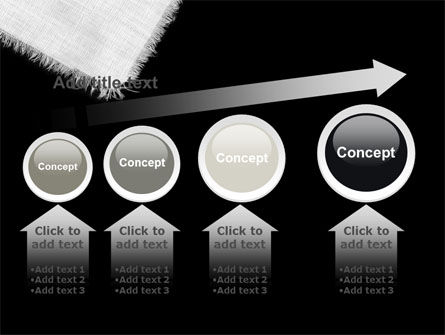 White Cloth PowerPoint Template Slide 13