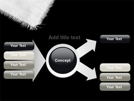 White Cloth PowerPoint Template Slide 14