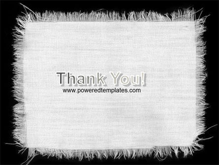 White Cloth PowerPoint Template Slide 20