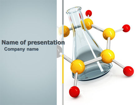 Education & Training: Organische Chemie PowerPoint Template #04773