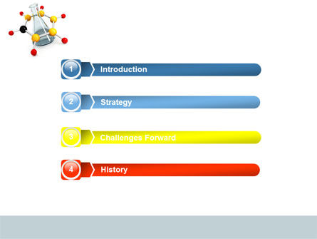 Organic Chemistry PowerPoint Template, Slide 3, 04773, Education & Training — PoweredTemplate.com