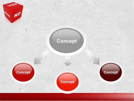 Decision Cube PowerPoint Template, Slide 4, 04774, Consulting — PoweredTemplate.com