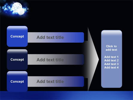 Disco Mirror Ball PowerPoint Template Slide 12