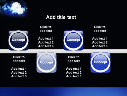 Disco Mirror Ball PowerPoint Template Slide 19