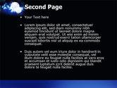 Disco Mirror Ball PowerPoint Template#2