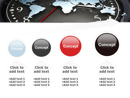 World Clock PowerPoint Template Slide 13