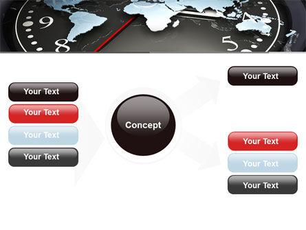 World Clock PowerPoint Template Slide 14