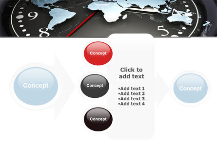 World Clock PowerPoint Template Slide 17