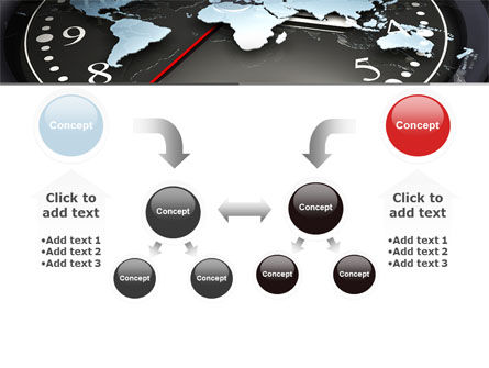 World Clock PowerPoint Template Slide 19