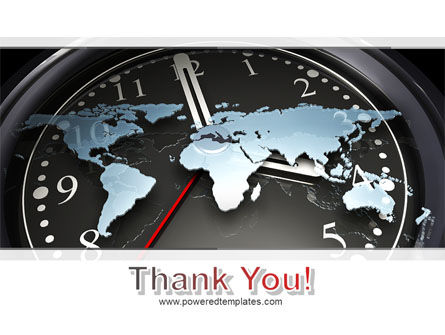 World Clock PowerPoint Template Slide 20