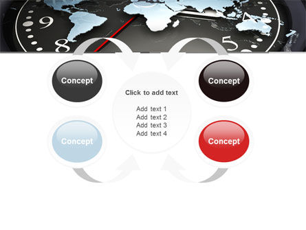 World Clock PowerPoint Template Slide 6