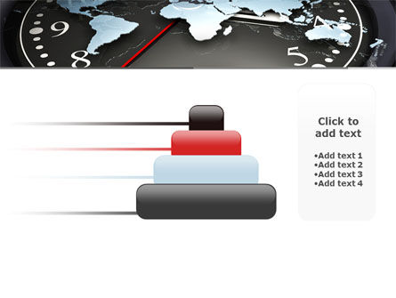 World Clock PowerPoint Template Slide 8